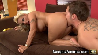Brutal deep anal with sexy mature Holly Halston!