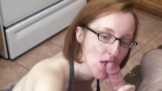 Layla Redd is on her knees to suck a dick