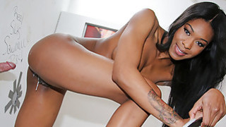 Nadia Jay at gloryhole