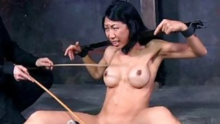 Masked cutie with undressed cunt receives drubbing