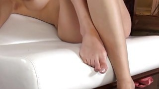 blonde on the white bigbed
