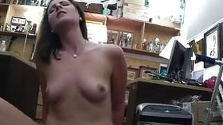 Hot wifey of a customer gets twat banged