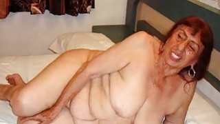 Horny Mexico Grannies and her amazing naked body